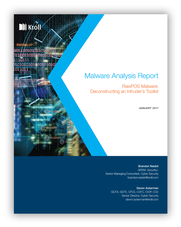 Malware Report Cover