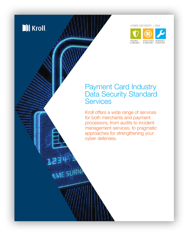 Payment Card Industry Cover