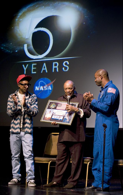 NASA 50th Ceremony